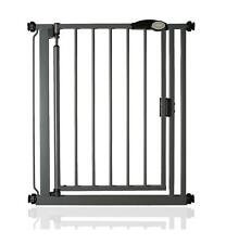 Safetots Auto Close Safety Barrier Pressure Stair Baby Gate Slate Grey 68.5-75cm