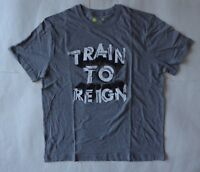 Xersion Train to Reign Graphic SS Crewneck T-Shirt Size Large Heather Gray RP$20