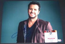 ONE TIME SALE! Luke Bryan Signed Autographed 11x14 Photo Global GA GV GAI COA!