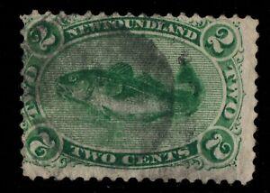 #24a Newfoundland Canada used