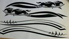 Popular Horse float trailer stickers 900mm wide  design 005