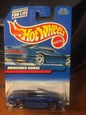 2000 Hot Wheels Mercedes 500SL #134 Blue Base