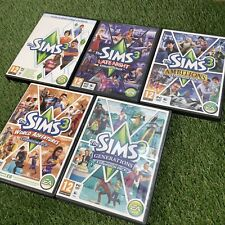 Sims 3 Pc/Mac Games Expansion Add On Bundle - Late Night Ambitions Generations