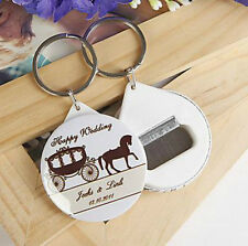 50pcs Personalised Bottle Opener Wedding Souvenirs Wedding Gifts For Guests