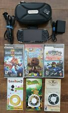 SONY PSP 3001 Piano Black Console + PSP Camera + Memory Card + PSP Case + Games