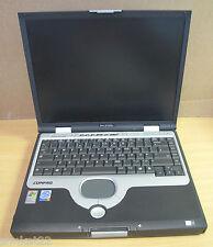 """Compaq Evo N1020V 15 """"ordinateur portable, pen4 2,4 GHz,256 Mb RAM, aucun disque dur, aucun cd-rom, réparation de rechange &"""