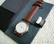 Original Bergmann Uhr 1960, braun, einzelnummeriert - NEU