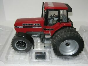 1/16 CASE I-H 7140 MFWD TOY TRACTOR TIMES MAGNUM DEMO CHASE TRACTOR NIB