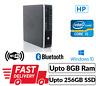 Fast HP 8200 Elite USFF PC Intel Core i5@2.70 8GB RAM 256GB SSD Win 10