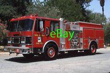 Fire Truck Photo Riverside San Jacinto Spartan FMC Engine Apparatus Madderom
