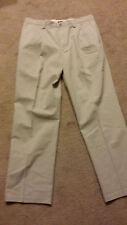 Dockers Easy Khaki Pleated Classic Fit Pants Cream 40/30 NWT