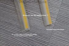 glasklar Dichtlippe für Glasbodenplatte 5m Schmutzlippe für Kamin Ofen