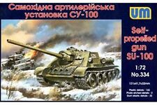 UNIMODELS 334 1/72 Self-propelled gun SU-100