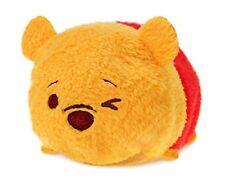 "Disney Store Tsum Tsum 3.5"" Winnie The Pooh Wink eyes Mini Plush New with Tags"