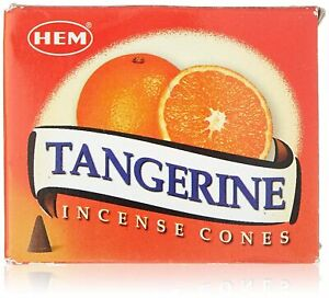 Tangerine Incense Cones for Aromatherapy, Smudging, Cleansing, Purifies