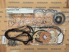 GENUINE NISSAN S13 CA18DET 200SX SILVIA ENGINE GASKET KIT SET OE PART A010144F2F