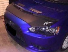 Car Hood Bra + LOGO Fits MITSUBISHI Lancer EVO X 10 08 09 2010 11 12 13 14 15 16