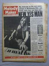 MELODY MAKER 21st August 1971 ~ Yes ~ George Martin ~ Sandy Denny!