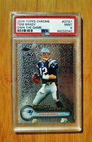 2006 Topps Chrome Own The Game TOM BRADY Patriots PSA 9 MINT