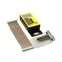 KEYESTUDIO T-type GPIO Expansion Board Cable Breadboard Kit for Raspberry Pi 3 4