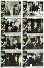 NIGHT OF THE LIVING DEAD ZOMBIES Set Of 8 Individual 8x10 LC Prints 1968