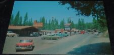 Vintage Postcard Twain Harte Calif Lodge / Cars 1950s