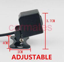 Adjustable Car REVERSE CAMERA LED Lights for GPS DVD 12V 170º CCD night version