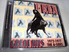 T.REX-GREAT HITS 1972-1977 A-SIDES MARC BOLAN JAPAN NEAR MINT CD