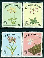 CAYMAN ISLANDS 535-38 SG605-08 MNH 1985 Orchids set of 4 Cat$12