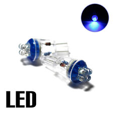 Opel Corsa D 1.4 Blue 4-LED Xenon Side Light Bright Upgrade 'HID' Parking Bulbs