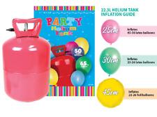 Helium Gas Tank Kit with Balloons & Ribbon Birthday Party  Wedding~FREE SHIPPING
