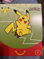 POKEMON 25TH ANNIVERSARY SEALED PACK-happy Meal MCDONALDS 2021 Shining Fates