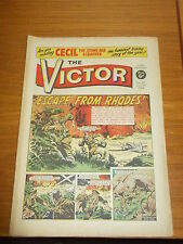 VICTOR #451 11TH OCTOBER 1969 BRITISH WEEKLY DC THOMSON MAGAZINE