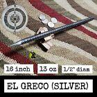 """""""EL GRECO"""" (POLISHED) STEEL NINJA SPEAR TIP TORPEDO THROWING SPEAR SPIKE"""