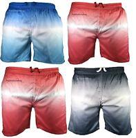 Mens Swimming Board Swim Shorts Trunks Swimwear Beach Summer Boys Two Tone S-3XL