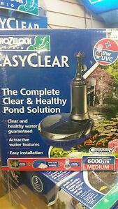 Hozelock - Easyclear 6000 Pump/Filter UVC
