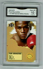 2005 Floyd Mayweather BTP Boxing Rookie Gem Mint 10