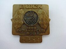 1983 Indianapolis 500 T584 Bronze Pit Badge Tom Sneva Texaco Star March Cosworth