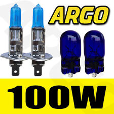H1 100W XENON SUPER WHITE 448 FOG SPOT LIGHT LAMP BULBS HID CITROEN SAXO