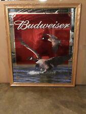 Budweiser Geese Hunting Beer Mirror