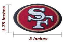San Francisco 49ers Logo Embroidered Iron On Patch.