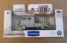 M2 Machines Auto-Thentics 1960 VW DOUBLE CAB TRUCK USA MODEL ~ Gray ~ Wal-Mart