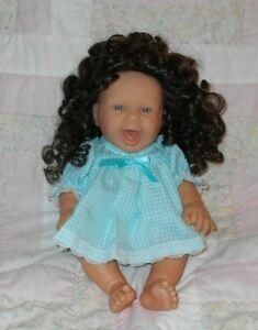 Playhouse HEATHER #1 Doll Wig SZ 10/11 DARK BROWN~Full Cap~Modacrylic ~NO TAG
