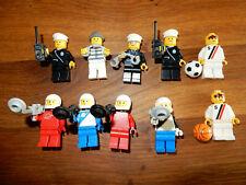 Lego Figuren 10 St. Space Police Basketball Sport Polizei Männchen