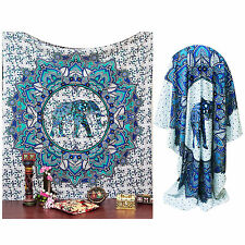 Large Buddhist Mandala Tapestry Hippie Hippy Wall Hanging Beach Throw Bohemian