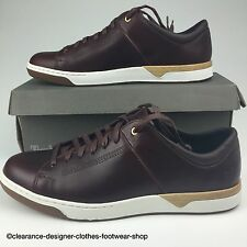 TIMBERLAND INMAN SQUARE LEATHER OXFORD TRAINERS MENS BROWN SHOE UK 11.5 RRP £125