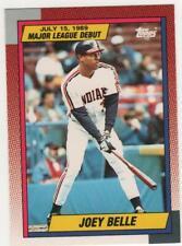 1990 TOPPS MAJOR LEAGUE DEBUT JOEY (ALBERT) BELLE CARD #14 CLEVELAND INDIANS
