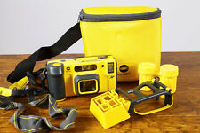 Exc+ Minolta Weathermatic Dual 35mm Underwater Film Camera Kit Tested/Guarantee
