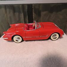 1954 CHEVY CORVETTE CONVERTIBLE,MIRA,1:18 SCALE,DIE CAST RED