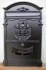 Briefkastenfabrik Wand Briefkasten Nostalgie Postkasten Alubriefkasten Bronze K
